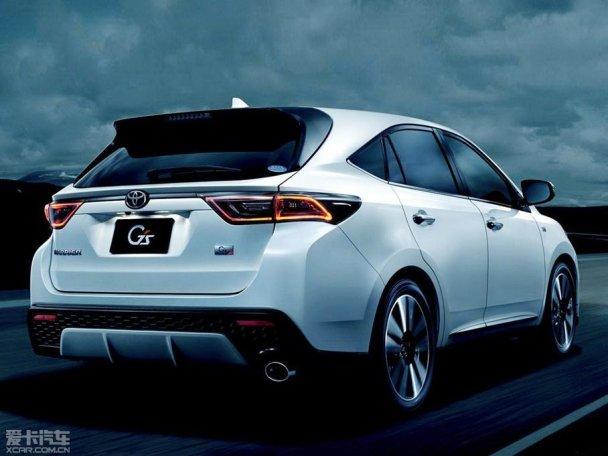 丰田发布harrier新车 将2015年1月问世