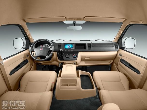 动力方面,新车相比普通版金杯大海狮L最大的变化是采用了源自丰田高清图片