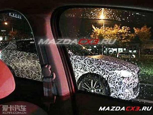 疑似马自达CX 3谍照 将洛杉矶车展发布高清图片