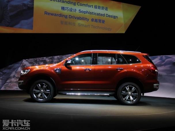 江铃福特Everest正式发布 全新七座SUV