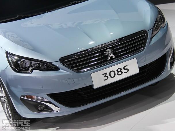 东风标致308S广州车展正式发布