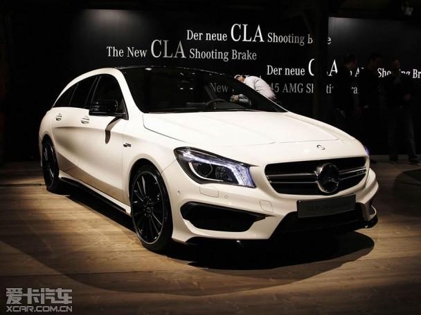 奔驰CLA猎装版实车图 明年1月全球首发