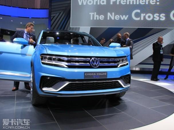 大众全新SUV概念车  北美车展正式发布
