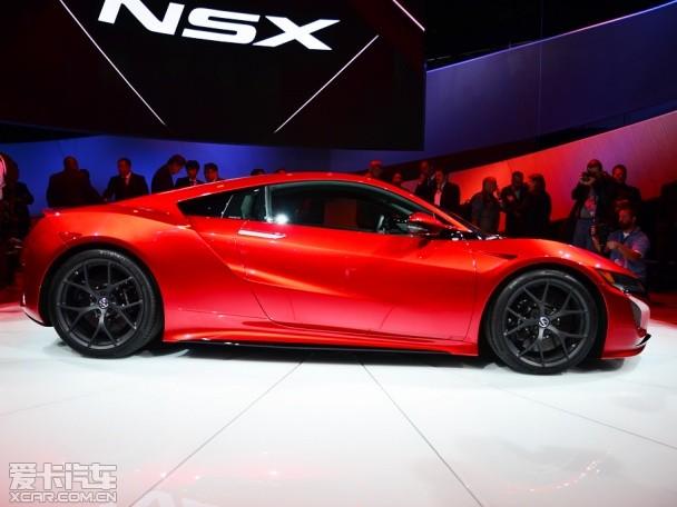 讴歌NSX量产版正式发布 采用混动系统