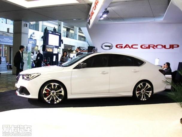 传祺GA6新概念车北美车展发布