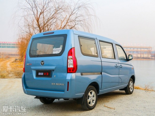 福田伽途V3将2月6日下线 或售3-4万元