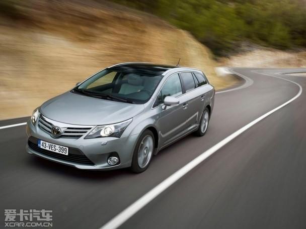 丰田全新Avensis官图 将日内瓦车展发布