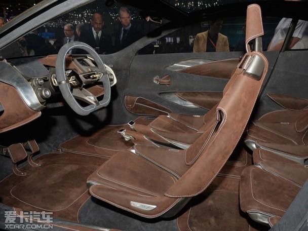 阿斯顿马丁DBX概念车 日内瓦车展发布