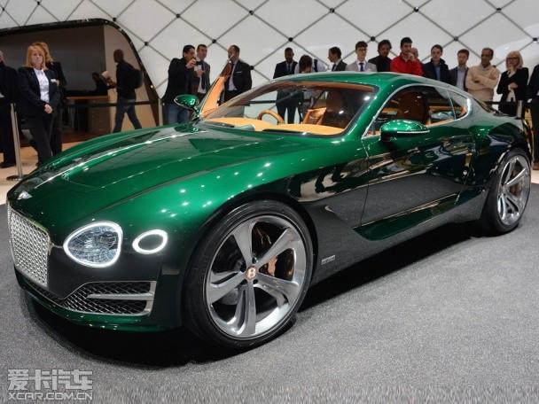 宾利新概念车EXP 10 SPEED 6日内瓦发布