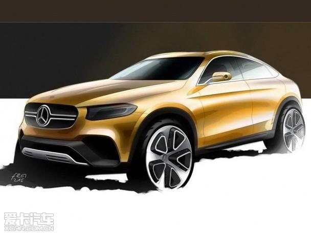 奔驰GLC Coupe概念车 将上海车展首发