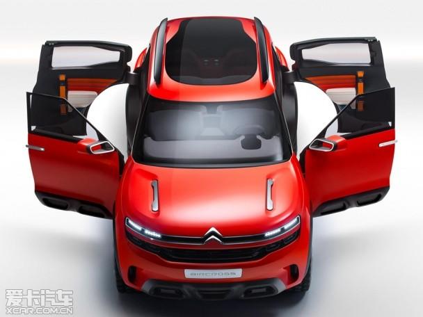 雪铁龙Aircross概念车官图 上海车展首发