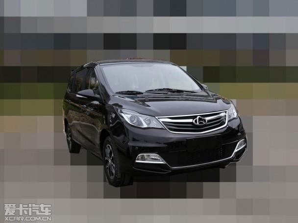 长安全新7座MPV车型谍照 上海车展发布高清图片