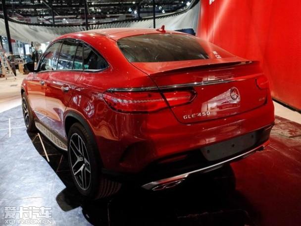 2015上海车展探馆 奔驰GLE Coupe抢先拍