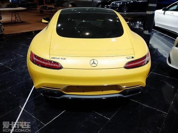2015上海车展探馆 奔驰AMG GT抢先实拍