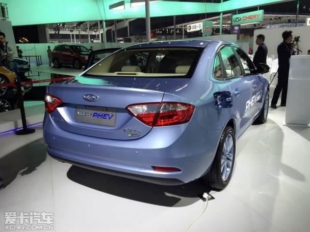 2015上海车展探馆 艾瑞泽7混动车型现身