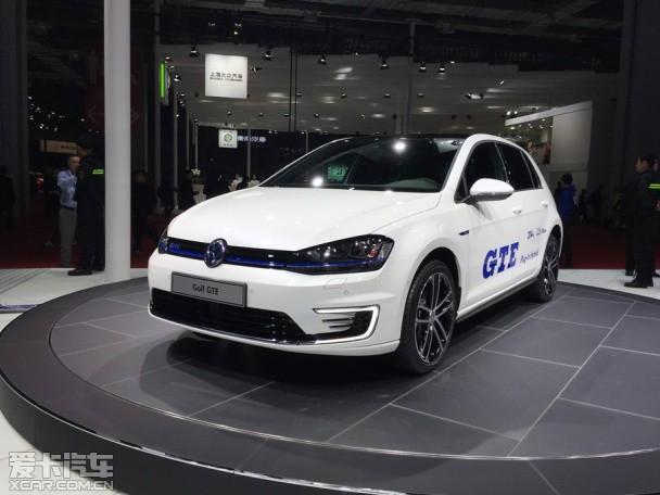 大众高尔夫GTE上海车展发布 搭混动系统