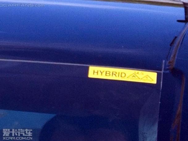 新保时捷Panamera S E-Hybrid 谍照