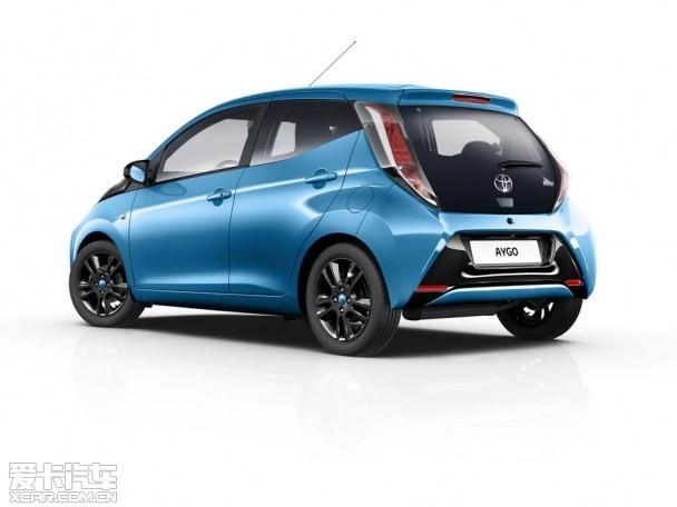全新丰田Aygo x-cite官图 将6月欧洲上市