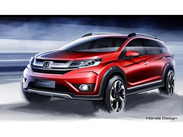 本田全新七座SUV设计图 将8月海外亮相