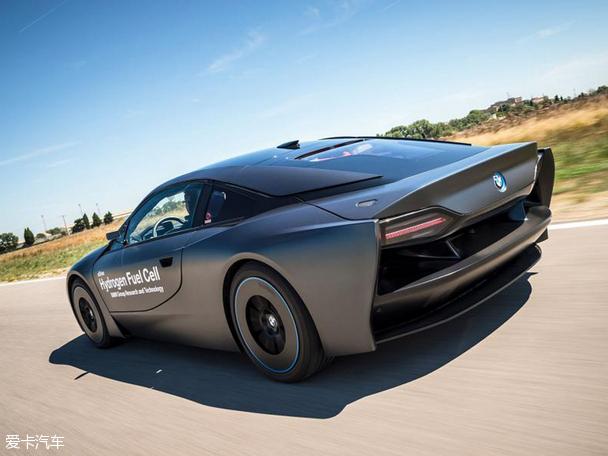 宝马发布 i8 氢燃料电池版研究用车