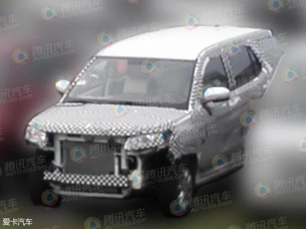 因此谍照车型前后灯组并非量产版造型?-本田全新7座SUV 长安全新7高清图片