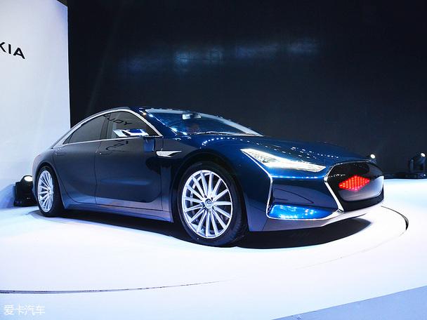 游侠X纯电动超跑概念车发布