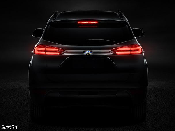 吉利全新SUV车型NL-3官图 有望年底推出