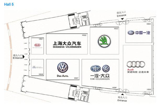 成都车展品牌分布图