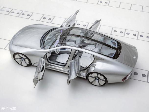 奔驰Concept IAA概念车官图 将正式首发