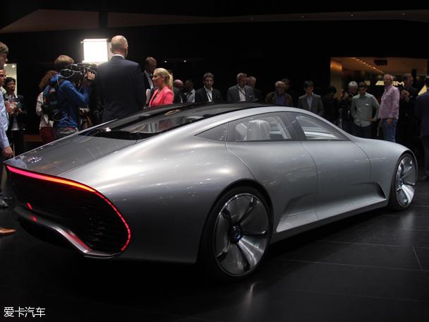 奔驰Concept IAA概念车 法兰克福首发