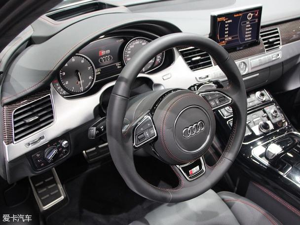 2015法兰克福车展 奥迪S8 plus首发亮相