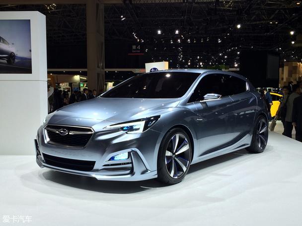 东京车展:斯巴鲁翼豹5门版概念车发布
