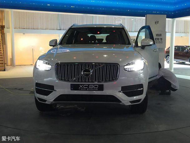 2015广州车展探馆 沃尔沃全新XC90 T8亮相