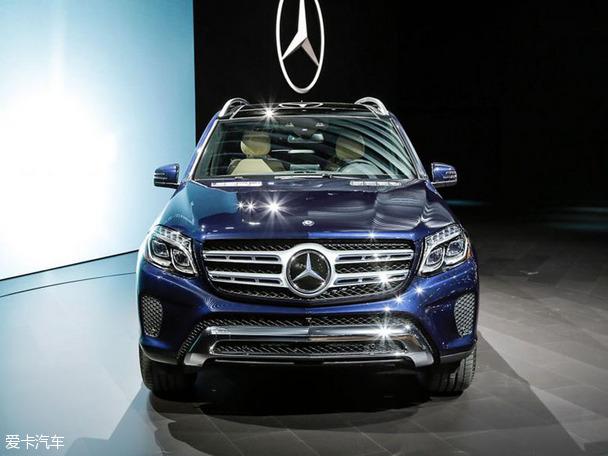 【图文】2015洛杉矶车展 奔驰GLS级家族全球首发_爱卡汽车