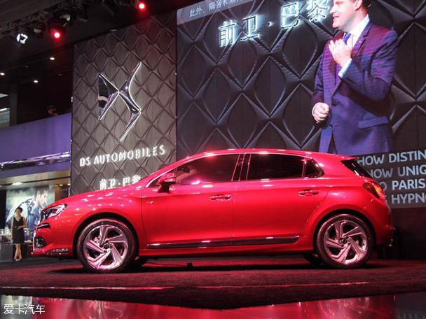 DS全新两厢车广州车展发布 直指奥迪Q3