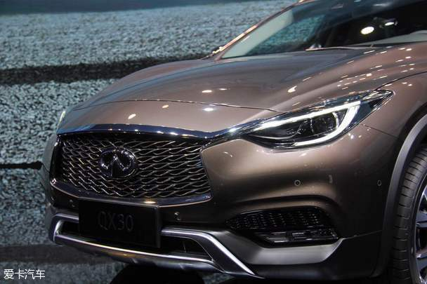 英菲尼迪QX30广州车展首发 将明年上市