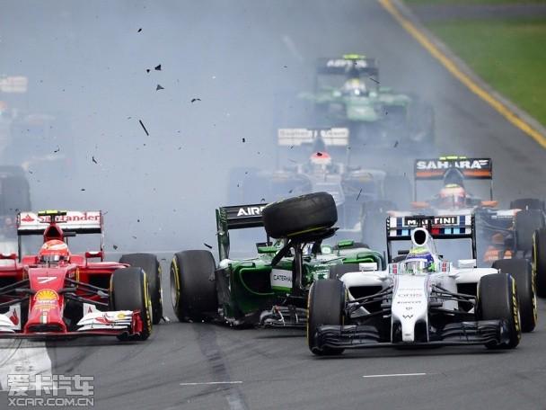 【图文】F1一触即发 倍耐力公布前四站轮胎配方_爱卡汽车