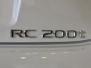 实拍雷克萨斯RC 200t