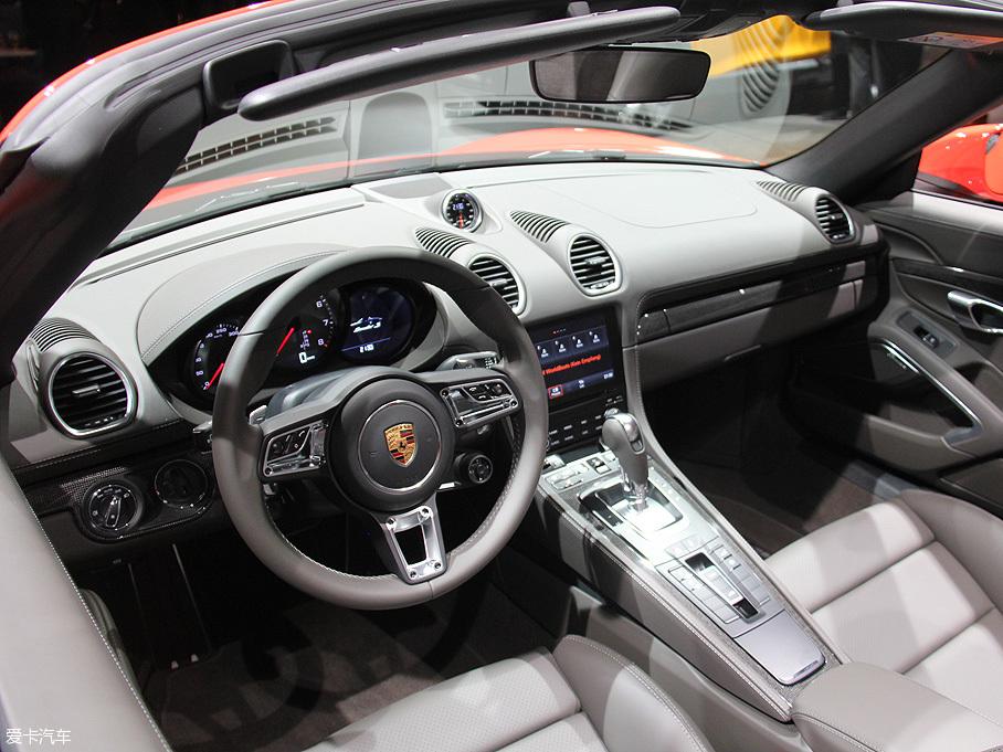 保时捷 718 Boxster 日内瓦 车展 正式 发布