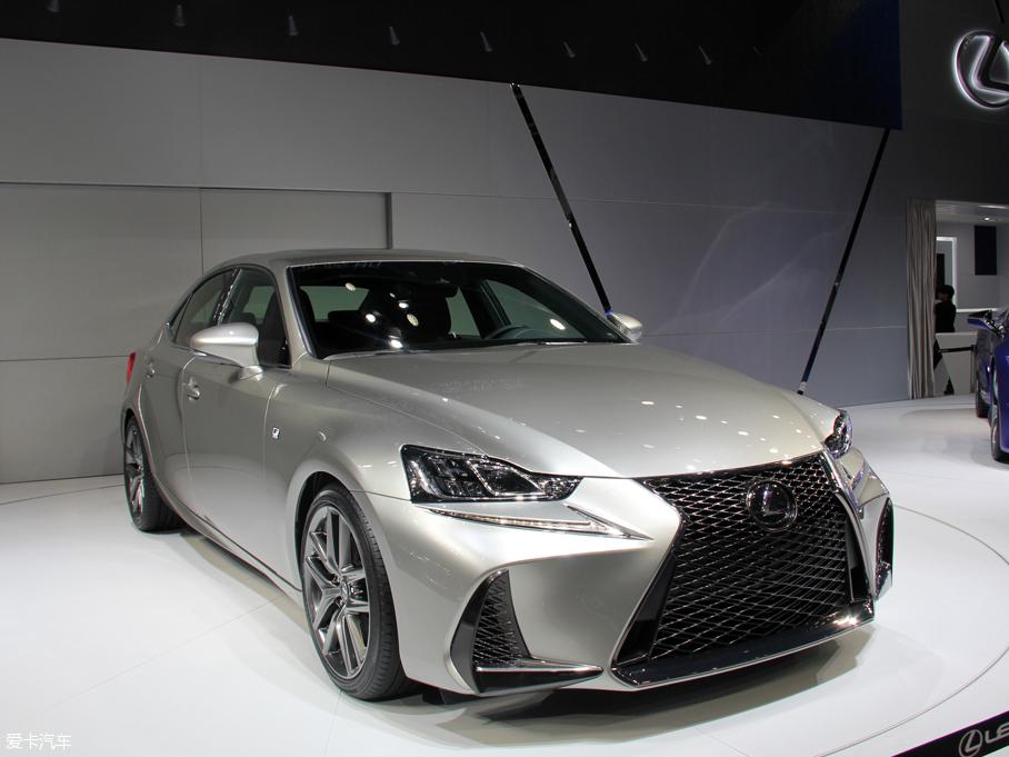 2016北京车展:雷克萨斯新款IS全球首发