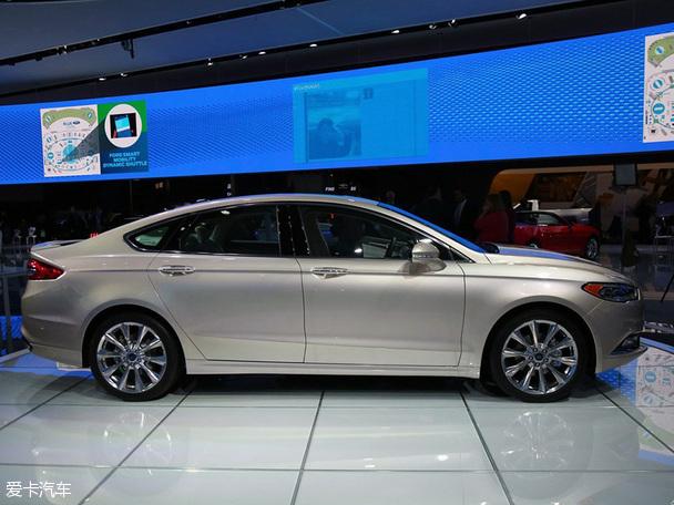 福特新蒙迪欧北美车展发布 未来将引入