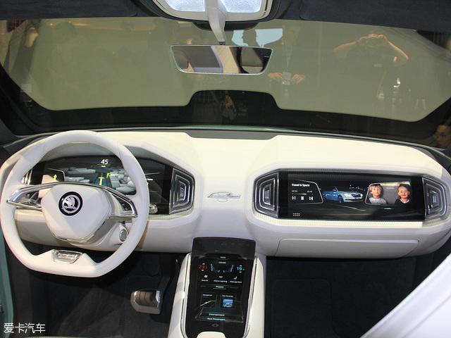 斯柯达VisionS概念车 日内瓦车展发布