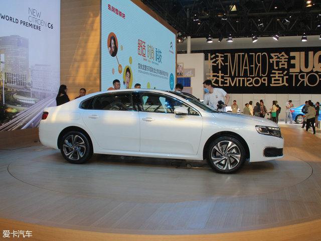 总统座驾 东风雪铁龙新C6北京车展发布