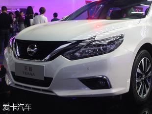 东风日产新款天籁上市 售17.58 29.88万