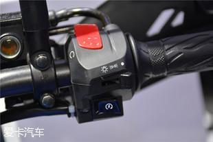 豪爵铃木GSX250R细节实拍高清图片