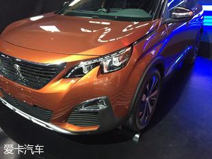 2016成都车展探馆:东风标致全新4008