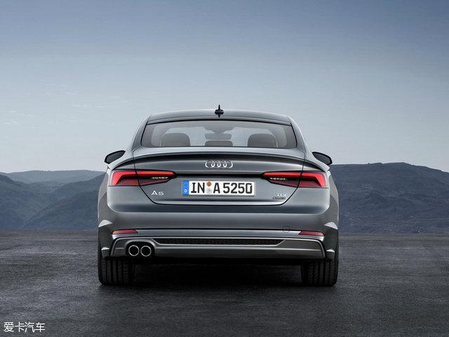 新一代A5/S5 Sportback官图 将巴黎发布