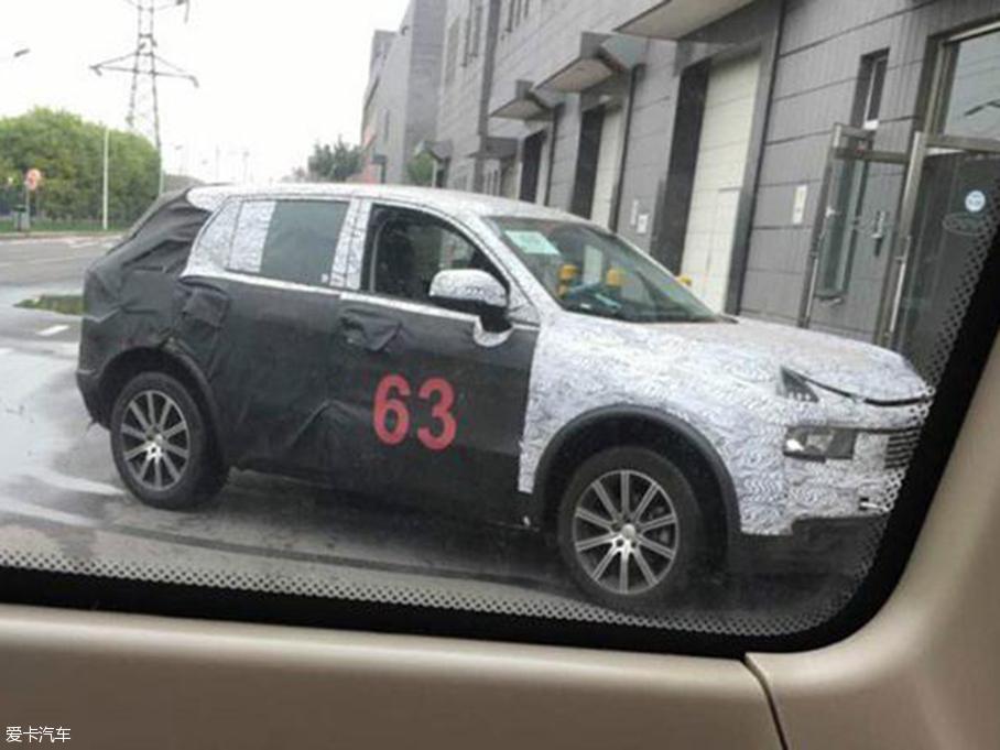 吉利L品牌首款SUV谍照 10月19日揭真容