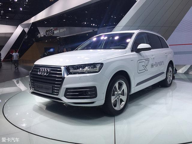 2016广州车展:奥迪Q7 e-tron正式发布
