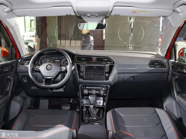 上汽大众全新途观L实车发布 明年初上市